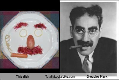This dish Totally Looks Like Groucho Marx