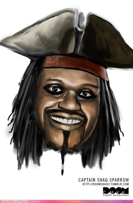 Captain Shaq Sparrow