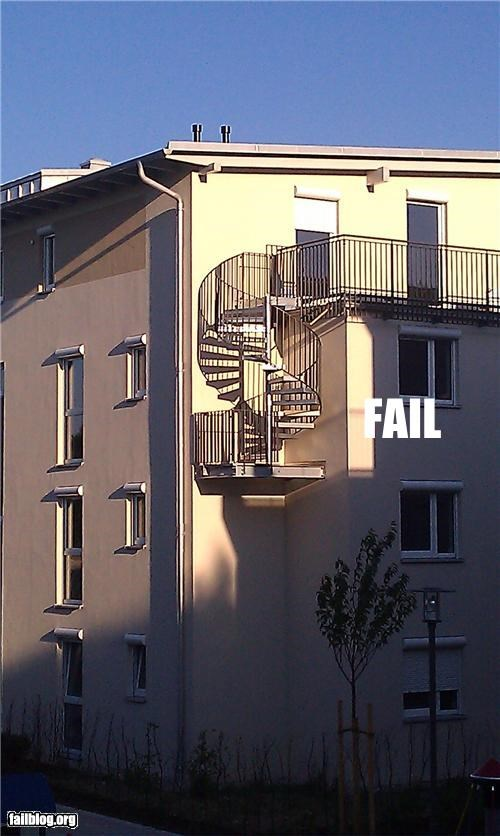 Fire Escape FAIL
