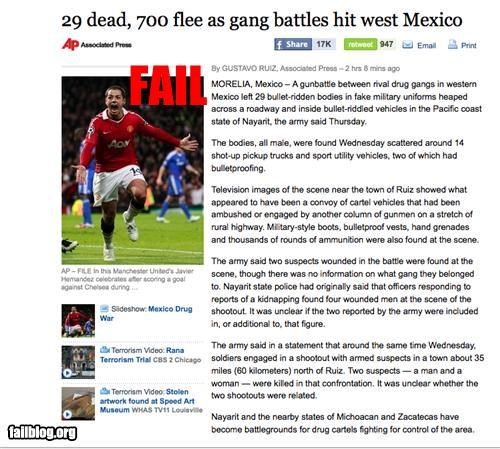 failboat,g rated,juxtaposition,newspaper,soccer,sports,wrong picture
