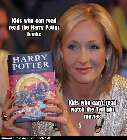 Kids Who Can Read Always Choose Harry Potter