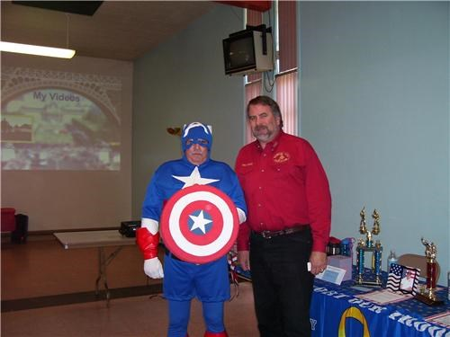 Captain America for Mayor of the Day