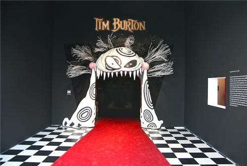 Tim Burton Exhibition of the Day