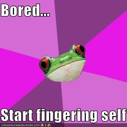 Foul Bachelorette Frog: Internet Is Down