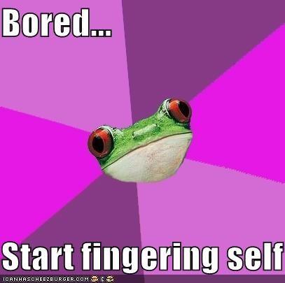 Foul Bachelorette Frog: Internet Is Down
