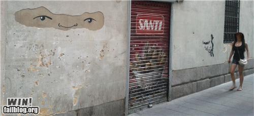 graffiti,hacked irl,ninja,wall