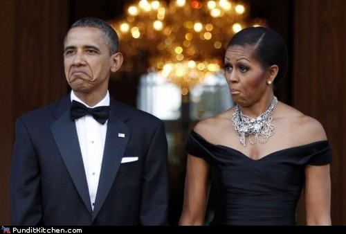 Friday Picspam: Obamas' Reactions Edition