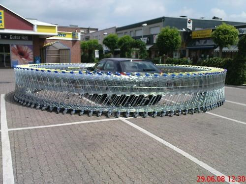 Shopping Cart Prank of the Day