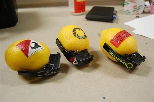 Combustible Lemons of the Day