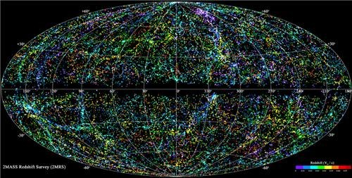 Map of the Universe of the Day