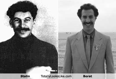 Joseph Stalin Totally Looks Like Borat (Sacha Baron Cohen)