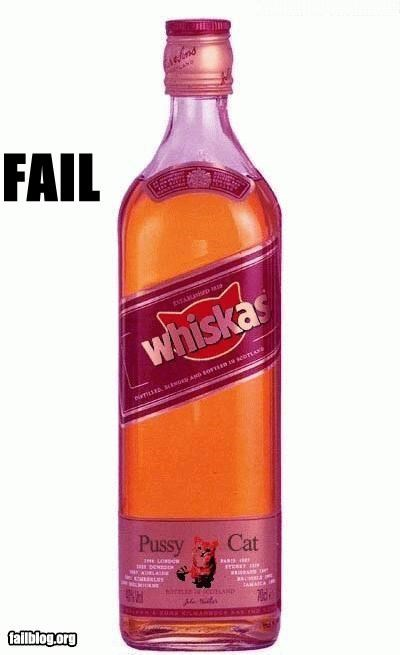 Whiskey For Cats FAIL