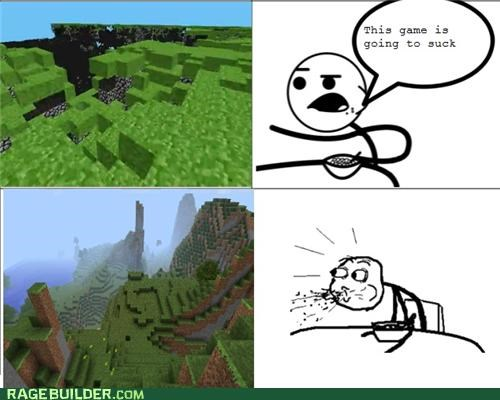 Cereal Guy: Minecraft