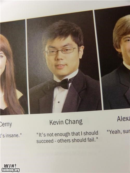 Yearbook Quote Win