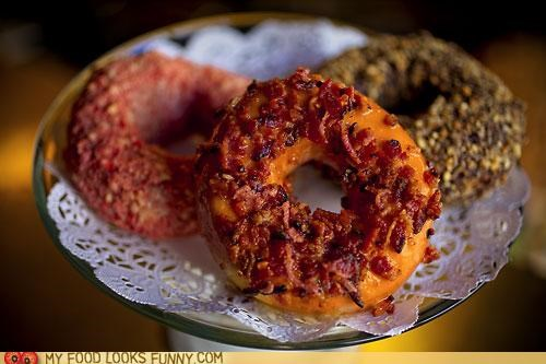 Maple Glazed Bacon Donut