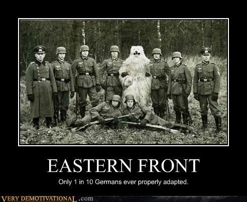 eastern front,Germany,hilarious,wtf,ww2,yeti