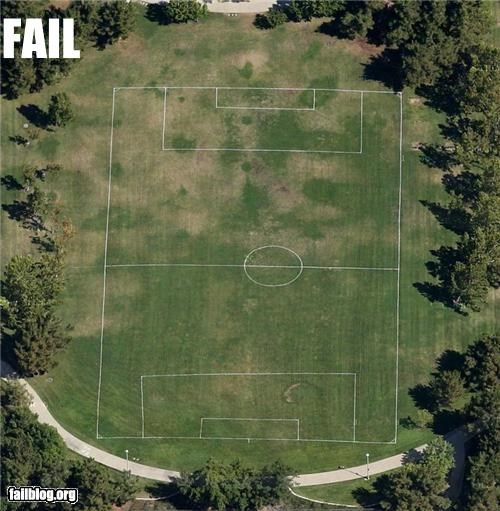 Soccer Pitch FAIL