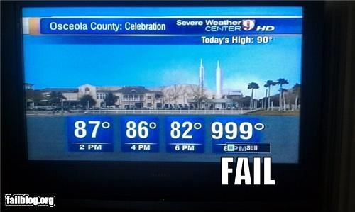 Weather Forecast FAIL