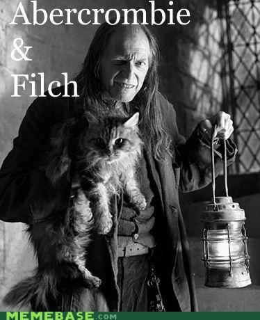 abercrombie,filch,finch,fitch,Harry Potter,Memes,spelling