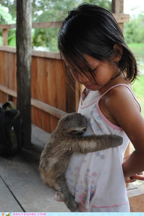 baby,cooties,explanation,fyi,hug,hugging,jealous,oh my squee,playing it safe,request,sloth,suggestion