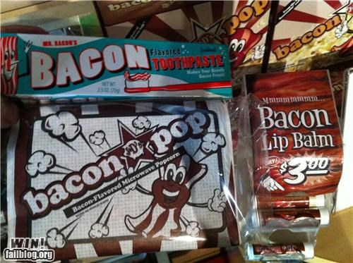 bacon,delicious,explosions,flavours