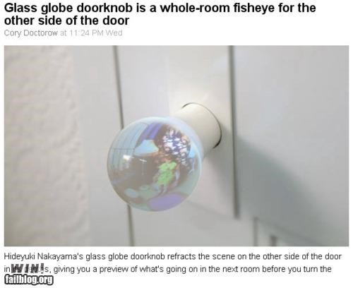 Door Knob / Fish-Eye Hybrid