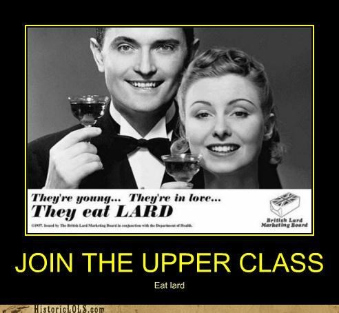 JOIN THE UPPER CLASS