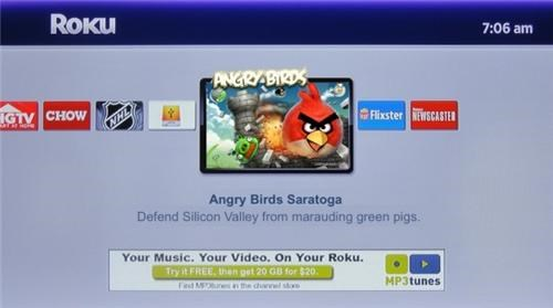 Angry Birds for Roku of the Day