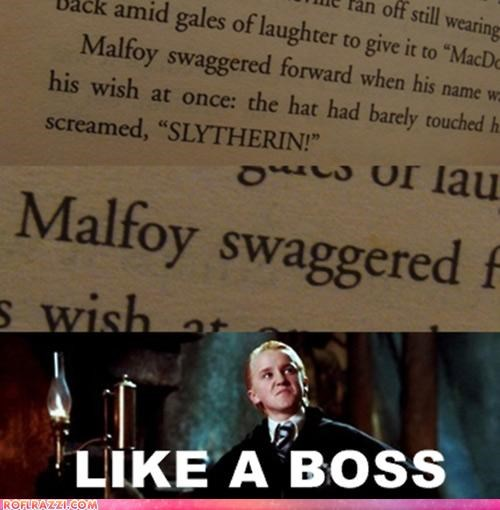 Malfoy Keep It Arrogant As F**k!