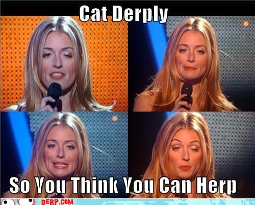 Cat Derply Is a Herp Champiurrrrn