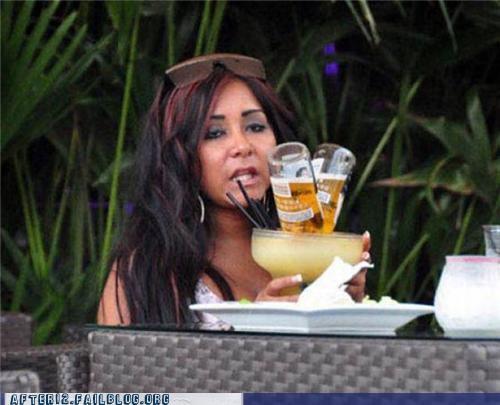 cocktail,corona,jersey shore,snooki