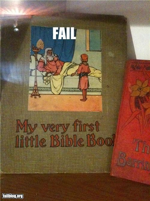 Biblically creepy FAIL