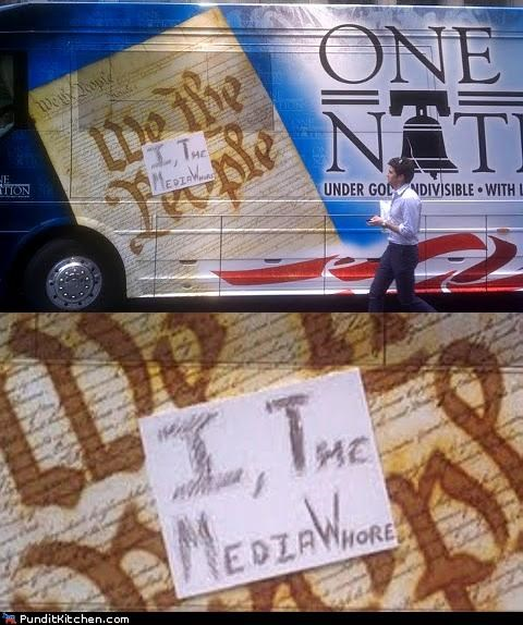 bus tour,new york city,poltical pictures,Sarah Palin