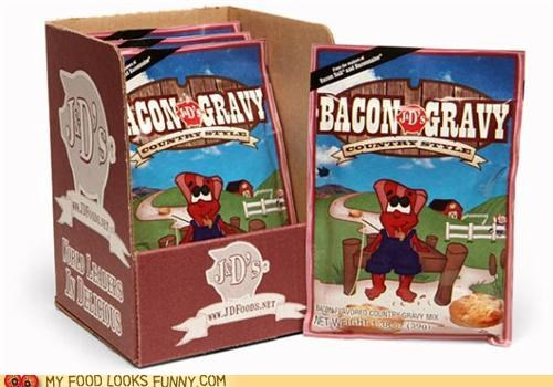 bacon,fast food,gravy,instant,packet