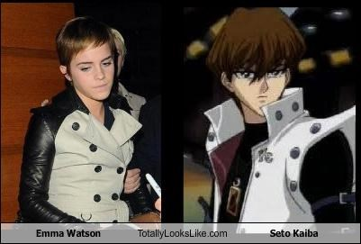 Emma Watson Totally Looks Like Seto Kaiba