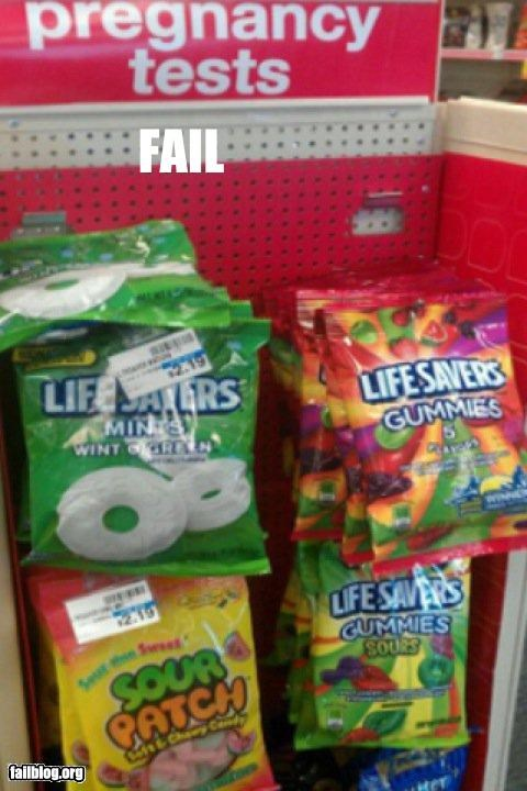 Candy Aisle FAIL