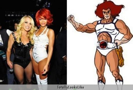 Rihanna Totally Looks Like Lion-O
