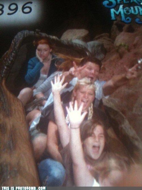 disney,Perfect Timing,roller coaster,splash mountain
