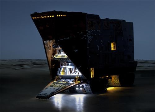 Lego Sandcrawler of the Day