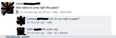 right,right-vs-write,write,writing