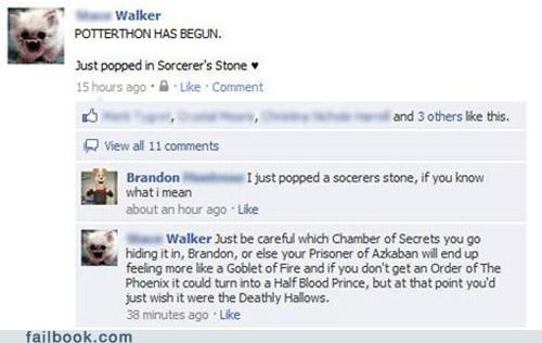 Harry Potter,witty reply