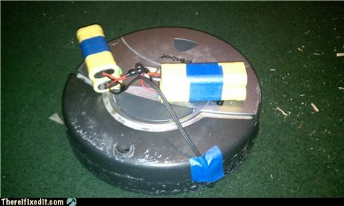Roomba Wasn't The Same After His Transplant