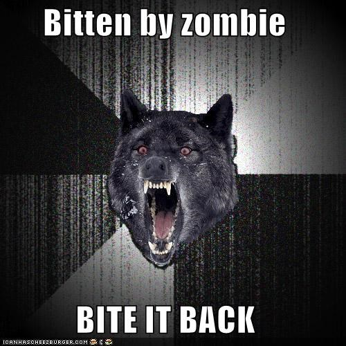 bite,brains,delicious,Insanity Wolf,zombie