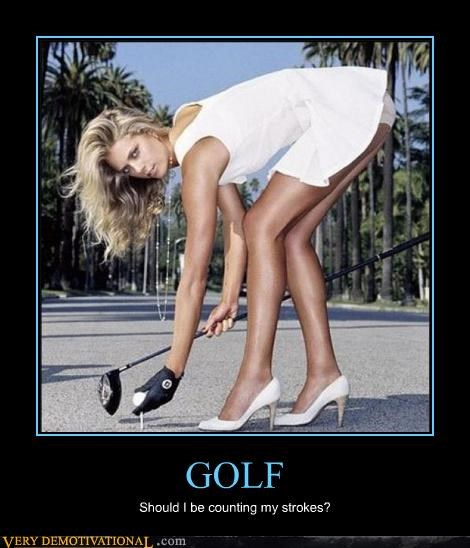 fapping,golf,hilarious,Sexy Ladies,sports