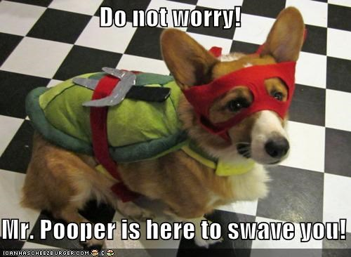 Do not worry!   Mr. Pooper is here to swave you!