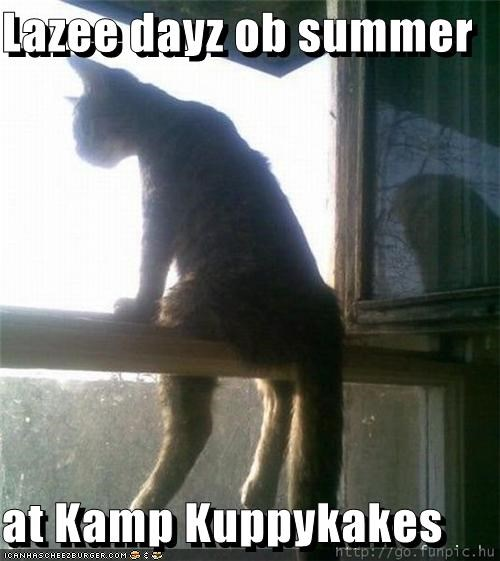 Lazee dayz ob summer  at Kamp Kuppykakes