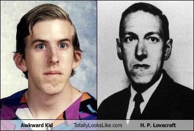 Awkward Kid Totally Looks Like H. P. Lovecraft