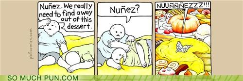 Rest in Pastry, Nuñez