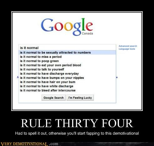 RULE THIRTY FOUR