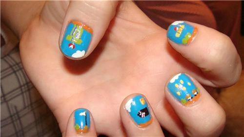 Mario Nails of the Day